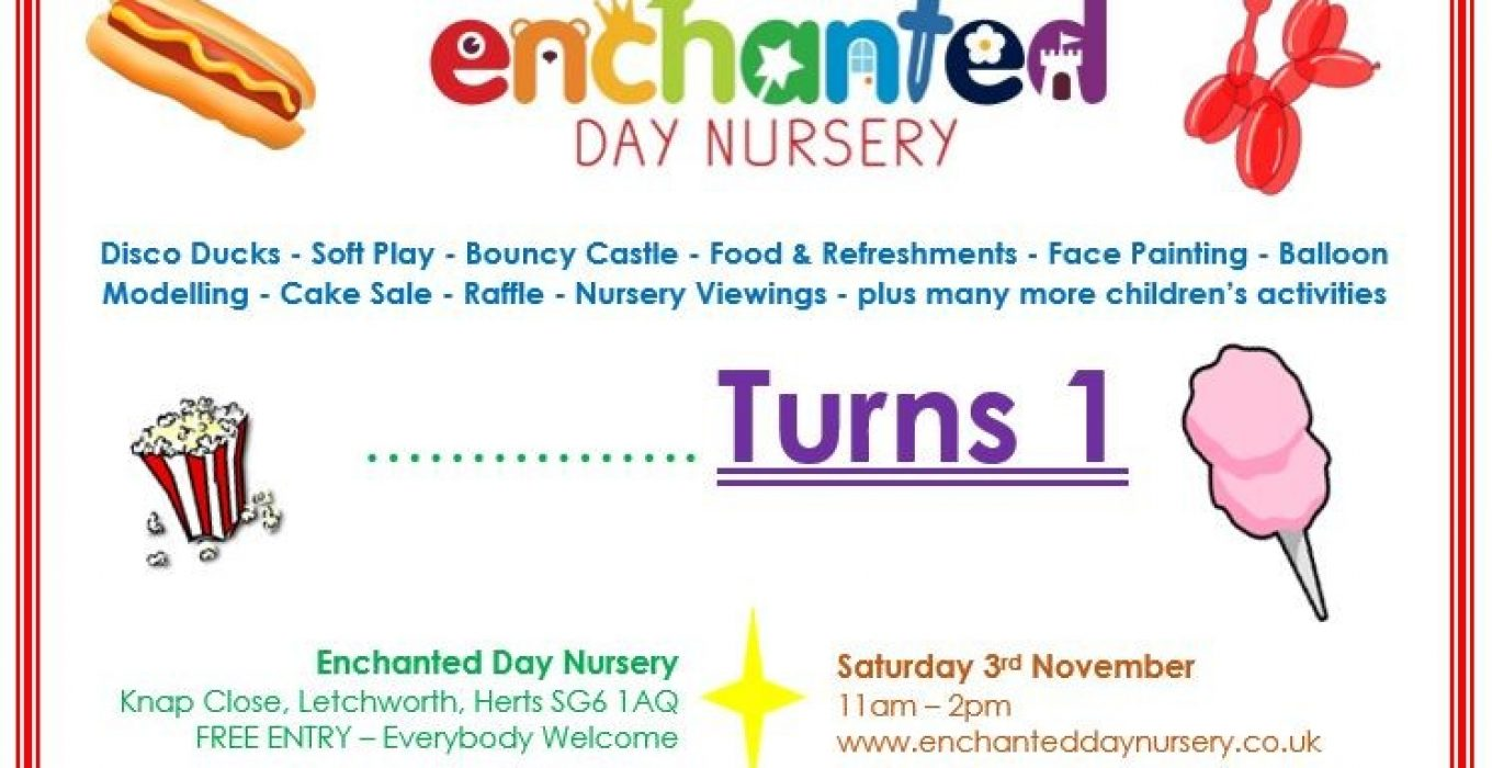 Enchanted's First Birthday Party