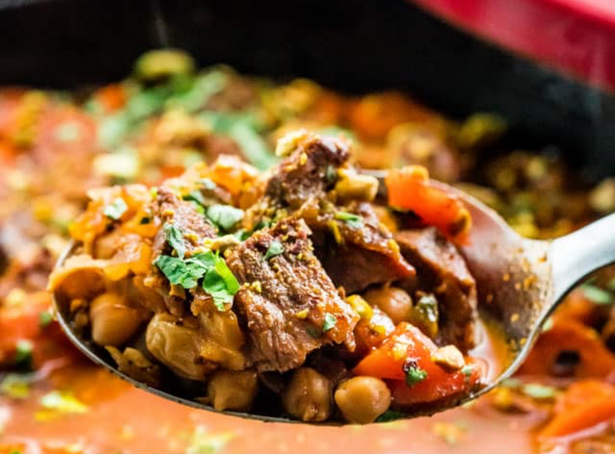 Lamb-Vegetable Tagine